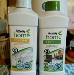 Dishwashing liquid Amway