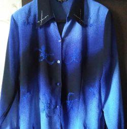 Bluză pentru femei, dimensiune -52