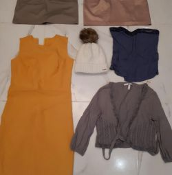 Clothes, women's, new and used