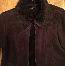 Нова куртка під замш разм М