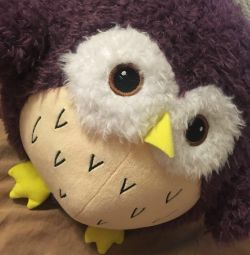 New soft toy owl