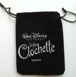 Μαύρη τσάντα δώρων για κοσμήματα Disney