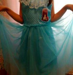Сукня принцеси (на 7-8лет)