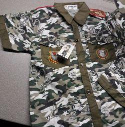 Στρατιωτικό καλοκαιρινό κοστούμι Army.RF 4-5 χρόνια