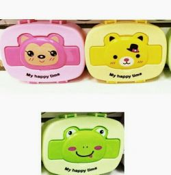 CHILD LUNCH BOX MY HAPPY TIME