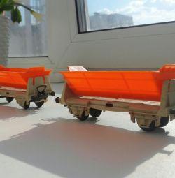 Railroad car model