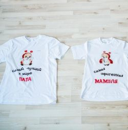 T-shirts for a photo shoot