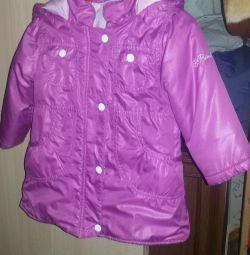 Jacket-raincoat spring - autumn, р.86-92