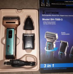 The trimmer for a hairstyle 3 in 1