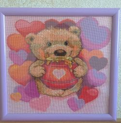 Picture embroidery cross-stitch