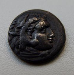 Серебряная драхма Александра Македонского 336-323