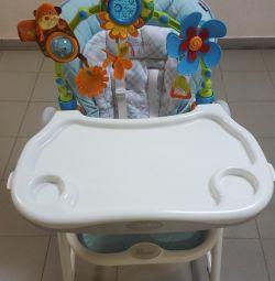 Happy baby feeding chair