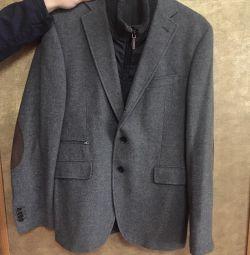 Піджак-пальто чоловічий Paoloni