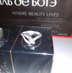 Кольцо Змейка Серебро