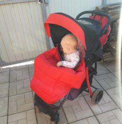 Coroll s-8 stroller + backpack-transformer