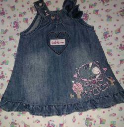Jeans sarafan rr62-68