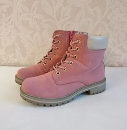 Timberland μπότες ροζ 35R
