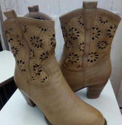 P. / Demi boots. Size 36.TORG.