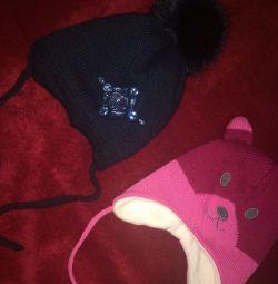 Καπέλα χειμώνα στο κορίτσι p44-46