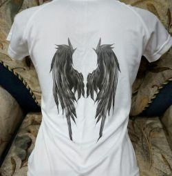 NOU T-shirt cu imprimare