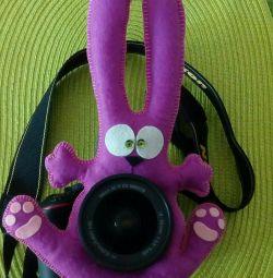 Bunny on the lens