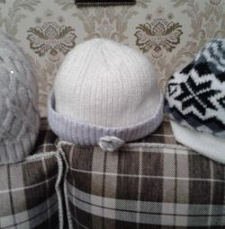 шапки /шарфы жен