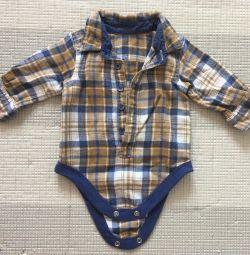 Body shirt (0-3 months)