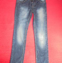 Jeans 46-48 dimensiuni pentru înălțime de la 170cm