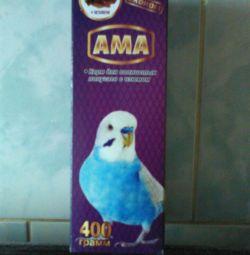 Корм для волнистых попугаев с изюмом