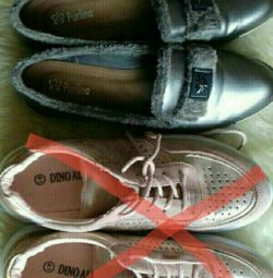 40-41 beden için ayakkabılar. Çift fiyatı.