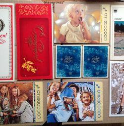 Diverse cărți poștale ale URSS