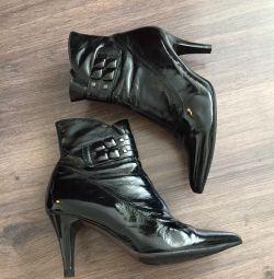 Ανδρικές μπότες, λουστρίνι, 36ρ