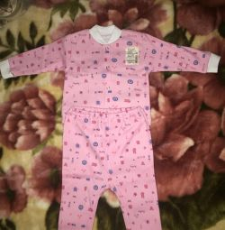 New !!! Pajamas for height 74 cm. Area of Megagrin