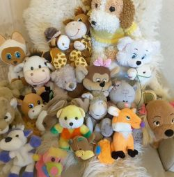 Soft toys package more than 20 pcs