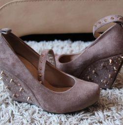 Orijinal şık platform ayakkabılar
