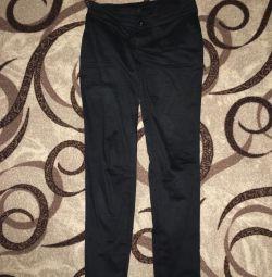 Μαύρα κλασικά παντελόνια μεγέθους 42-44