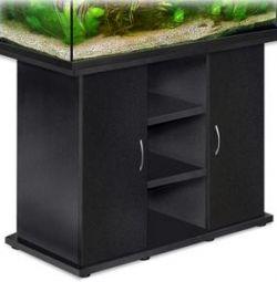Cabinet negru pentru un acvariu de 400l dimensiune 150h73cm