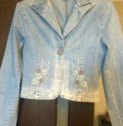 Jeans jacket-jacket