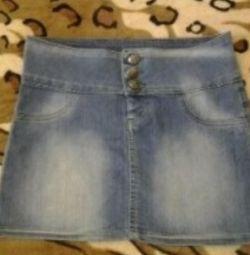 denim skirt for 10-12 years