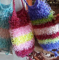 Handmade washcloths from Balakovo