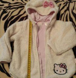 1-2 yıldır Hello Kitty ceket ve sweatshirt