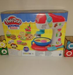 A new set of mixer for candy play doh