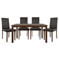 5TMX STRAWBERRY SET WITH 120X74 TABLET AND CHAIRS