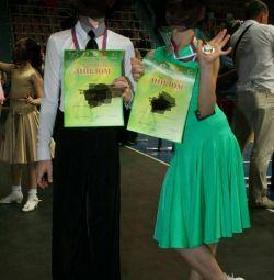 Βαθμολογία φόρεμα για χορό χορού μέγεθος 134