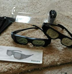 Pahare 3D active Philips