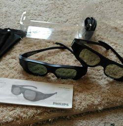 Ενεργά γυαλιά 3D της Philips