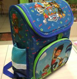 Orthopedic backpack for boy