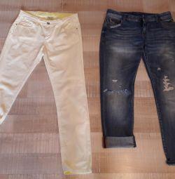 Джинси zara і джинсові шорти італія
