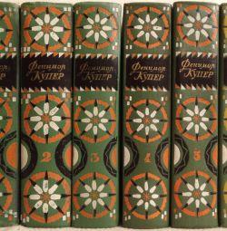 Fenimore Cooper - Lucrări selectate în 6 volume