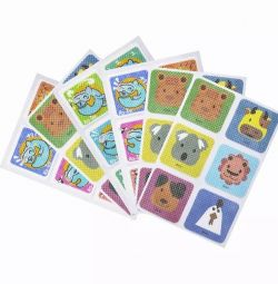 Children's mosquito patches with repellent.